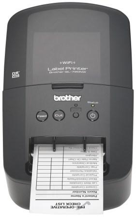 Brother presenta Nueva Impresora de Etiquetas Inalambrica