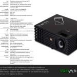 ViewSonic presentó nueva generación de monitores VDI, proyectores y más para México - Tabla-PJD7820HD-copia