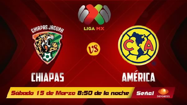 América vs Jaguares en vivo, Jornada 11 Clausura 2014 - america-vs-chiapas-en-vivo