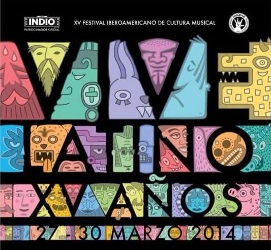 Arcade Fire, Ely Guerra y y otros artistas que podrás ver este viernes 28 en vivo en el Vive Latino 2014 - artistas-vive-latino-2014-viernes