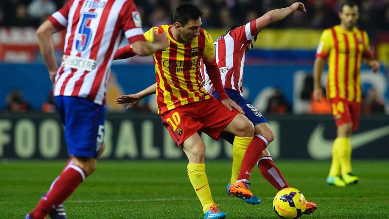 Barcelona vs Atlético de Madrid en vivo, Champions League 2014