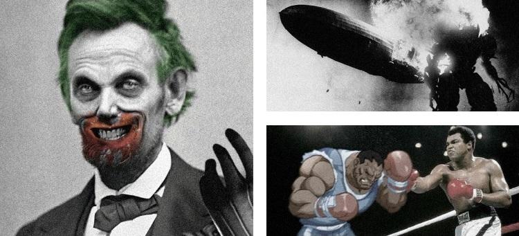 «Playing With History», el arte de añadir detalles nerds a la historia