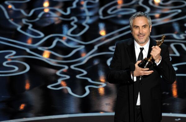Ganadores del Oscar 2014 [Lista Completa] - cuaron-ganador-oscar