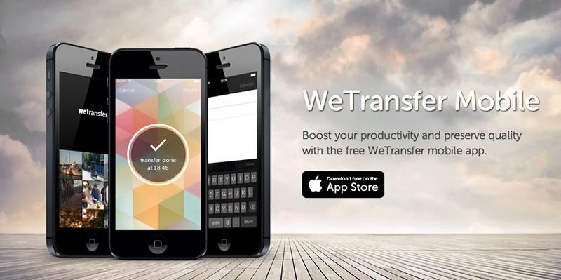 Envia fotos o videos de hasta 10 GB desde tu iPhone con WeTransfer - enviar-imagenes-pesadas-iphone