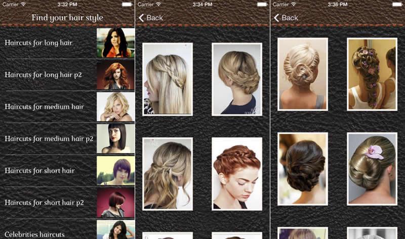 5 apps para elegir tu peinado o corte de cabello desde tu iPhone - estilos-de-peinados-y-cortes-de-cabello