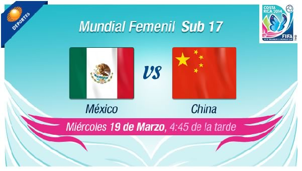 México vs China en vivo, Mundial Femenil Sub 17 - mexico-vs-china-en-vivo-sub-17