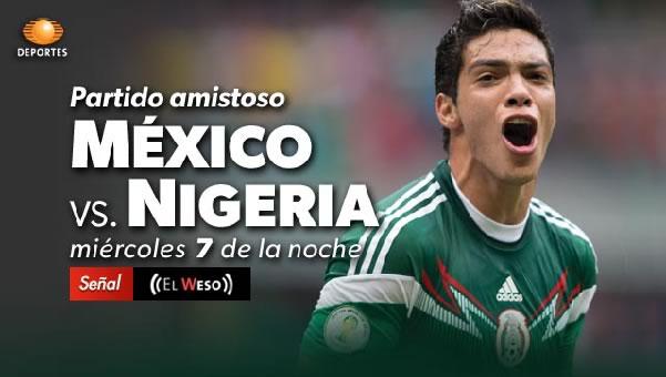 México vs Nigeria en vivo, Amistoso rumbo al mundial de Brasil 2014 - mexico-vs-nigeria-en-vivo-amistoso-2014