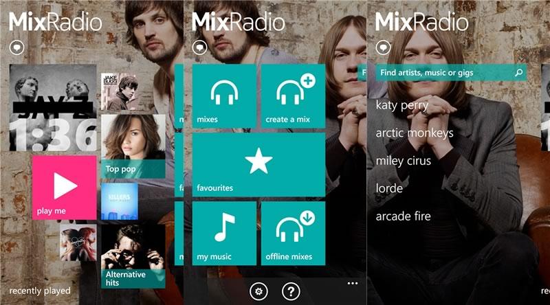 Apps para Nokia ideales para comenzar la primavera de la mejor manera - nokia-mix-radio-windows-phone