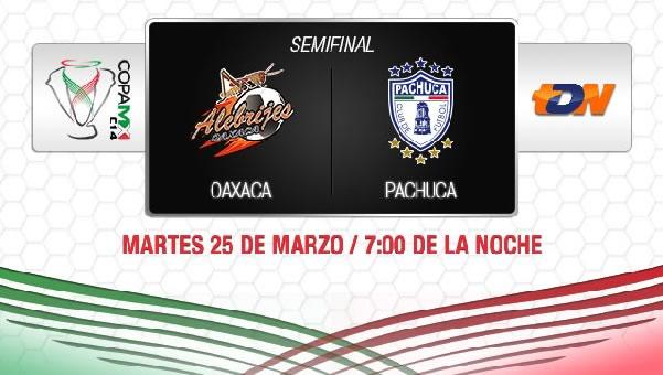 Pachuca vs Oaxaca en vivo, Copa MX 2014 (Semifinal) - oaxaca-vs-pachuca-copa-mx