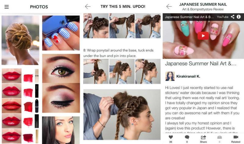5 apps para elegir tu peinado o corte de cabello desde tu iPhone - peinados-iphone-800x474