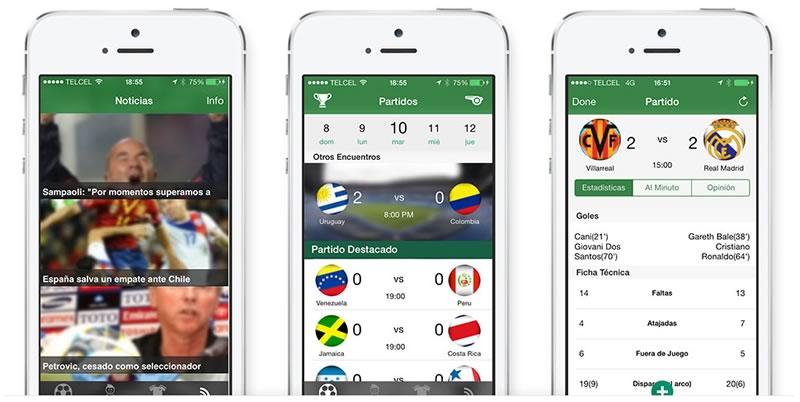 CopaLive, resultados de futbol en vivo desde tu Smartphone - resultados-futbol-en-vivo-copalive