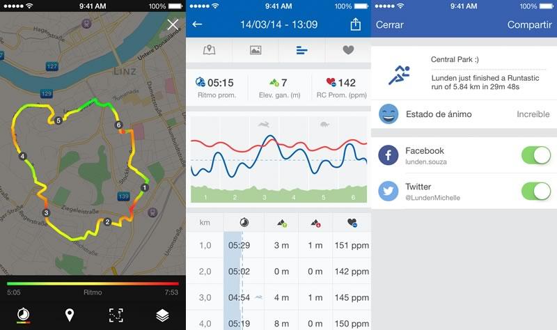 Runtastic actualiza su app con nuevo diseño y nuevas funciones gratis - runtastic-app