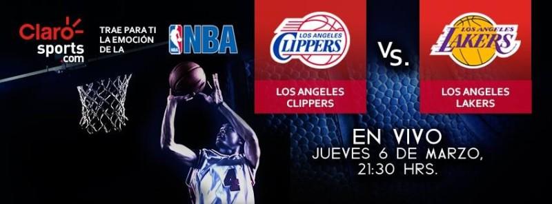 Ver la NBA en vivo por internet: Lakers vs Clippers de Los Angeles - ver-nba-en-vivo-lakers-vs-clippers-800x296