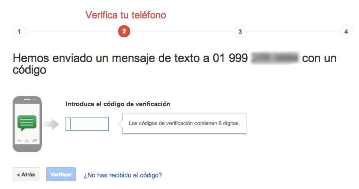 Cómo proteger el acceso a tu correo electrónico habilitando la autenticación en 2 pasos - verificacion-2-pasos-gmail-3