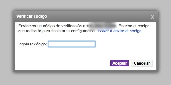 Cómo proteger el acceso a tu correo electrónico habilitando la autenticación en 2 pasos - verificacion-dos-pasos-yahoo