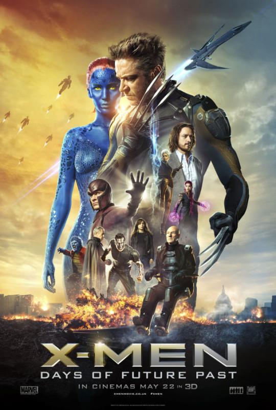X-Men: Días del Futuro Pasado y su épico segundo tráiler - xmen-dias-del-futuro-pasado-540x800