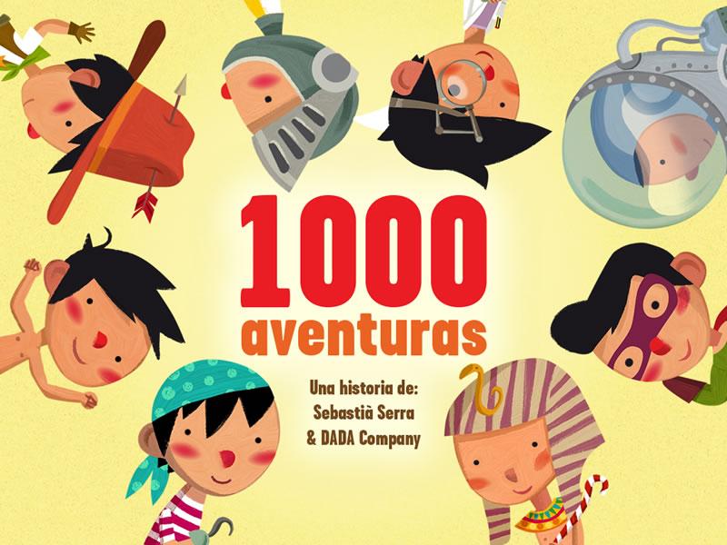 1000 Aventuras, un libro interactivo para niños que ayuda a fomentar la creatividad e imaginación - 1000-aventuras-libro