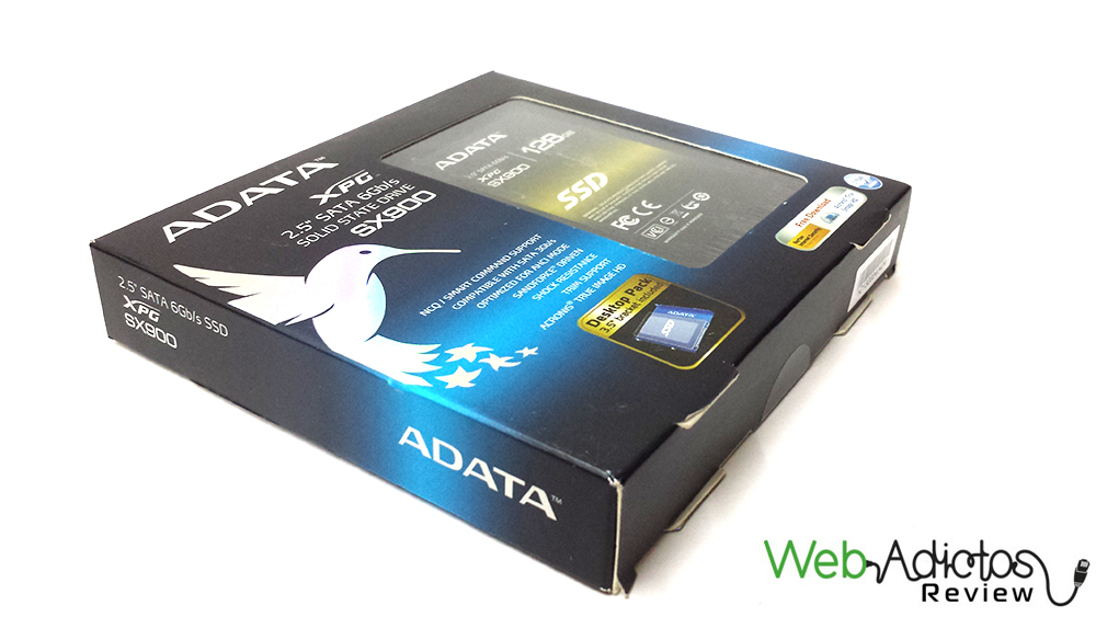 Disco SSD ADATA XPG SX900 de 128GB [Reseña]