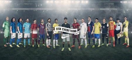 Comercial de NIKE con Cristiano Ronaldo, Neymar Jr. y HULK