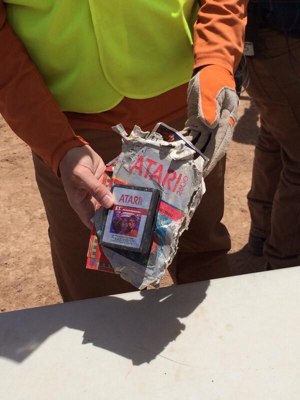Son encontrados en el desierto los cartuchos enterrados de ATARI - atari2