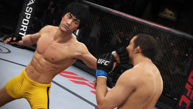 EA Sports UFC's tendrá a Bruce Lee como personaje jugable - bruce-lee-ufc