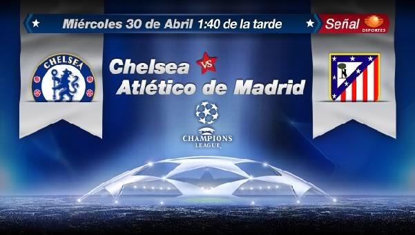 Atlético de Madrid vs Chelsea en vivo, Semifinal Champions (vuelta) - chelsea-vs-atletico-de-madrid-en-vivo-televisa