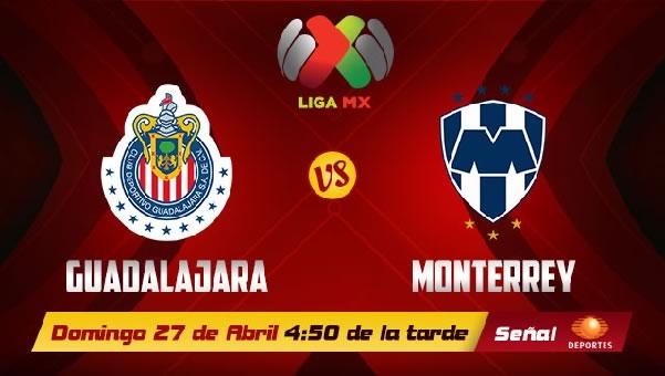 Chivas vs Monterrey en vivo, Jornada 17 Clausura 2014 - chivas-vs-monterrey-en-vivo-televisa