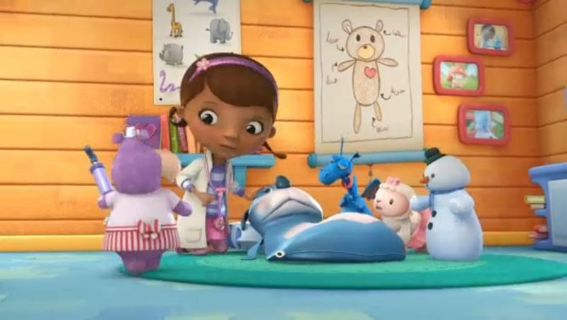 Caricaturas de Disney Junior online y gratis - doctora-juguete-disney-junior