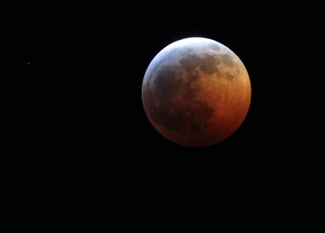 Video del eclipse lunar por si no pudiste verlo - eclipse-lunar