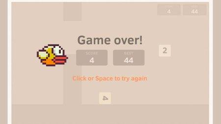 ¿Te imaginas combinar Flappy Bird con 2048? Exacto, es Flappy2048