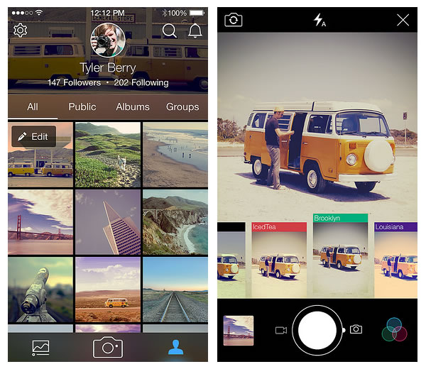 Flickr 3.0 para iPhone y Android te permite grabar videos en HD y mucho más - flickr-iphone-android