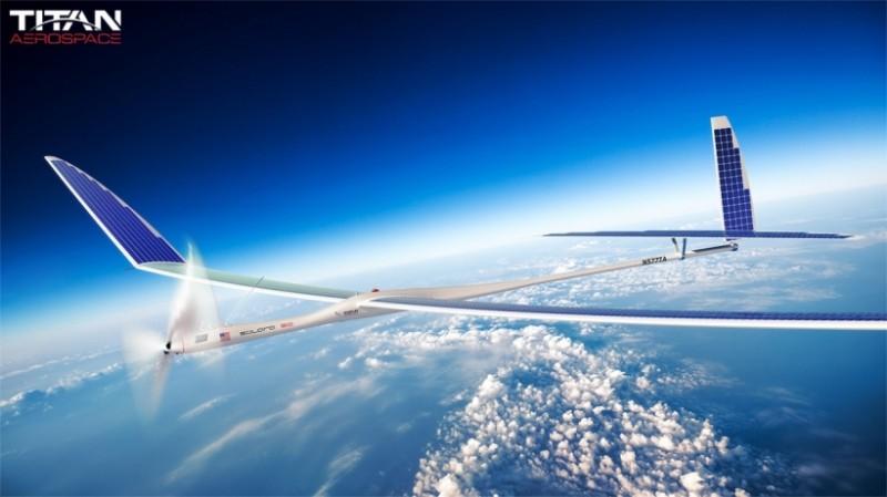 Google compra compañía fabricante de drones que era pretendida por Facebook - google-compra-titan-aerospace-800x449
