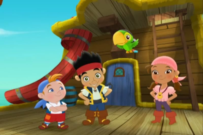 Caricaturas de Disney Junior online y gratis - jake-y-los-piratas