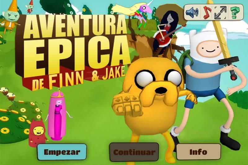 Juegos de hora de aventura en Cartoon Network - juegos-hora-de-aventura-una-aventura-epica