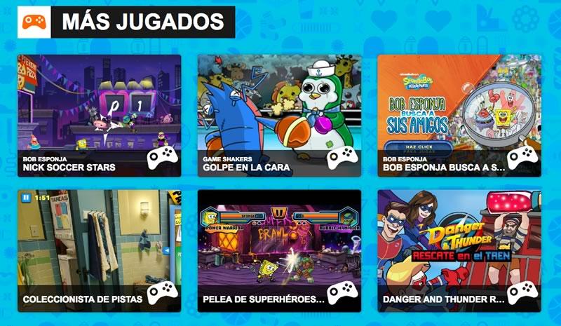 Juegos Friv y otros sitios para jugar online este día del niño ¡A divertirse! - juegos-nickelodeon
