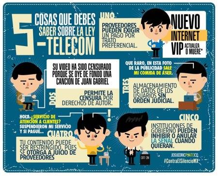 5 cosas que debes saber sobre la Ley Telecom