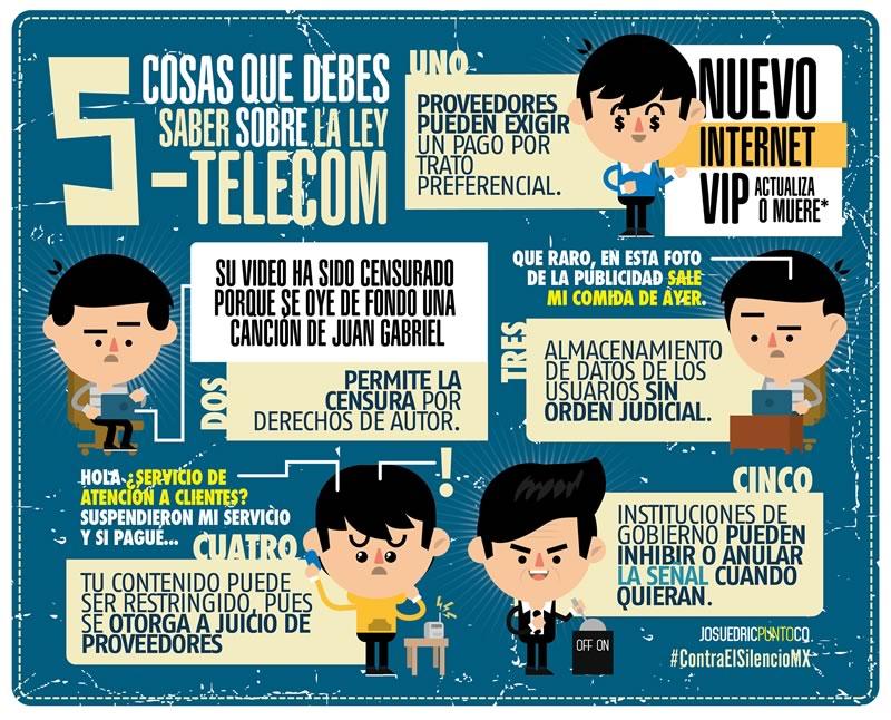 5 cosas que debes saber sobre la Ley Telecom - ley-telecom