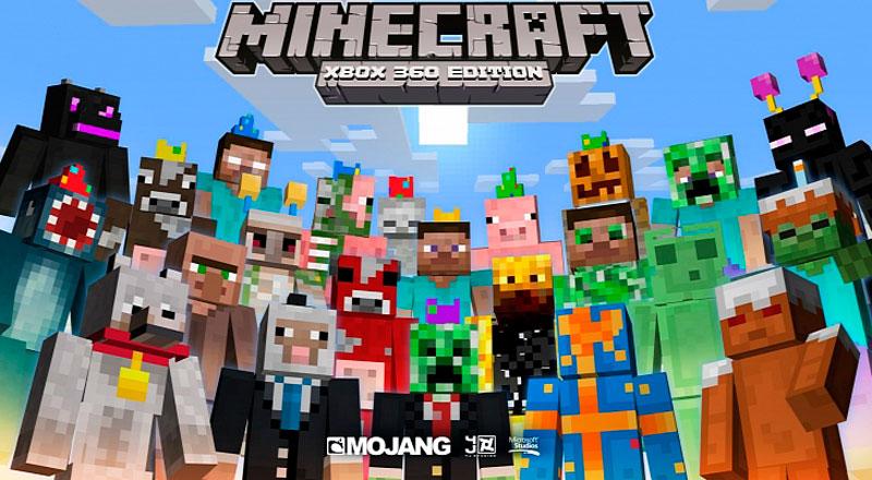 Videojuegos para regalar el día del niño - minecraft