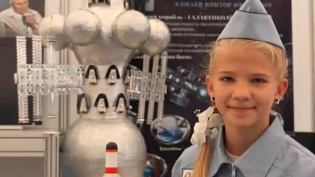 Niña de 13 años inventa nave espacial capaz de viajar a otra galaxia. ¡No lo vas a creer! - nina.rusa_.1