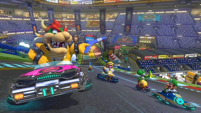 Mario Kart 8: Con nuevos objetos, personajes y pistas - nuevo-mario-kart-8