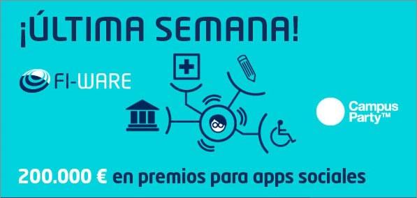 Participa en los retos Fi-WARE y gana hasta 75,000 € #FIwARE800k - retos-fi-ware-apps-sociales