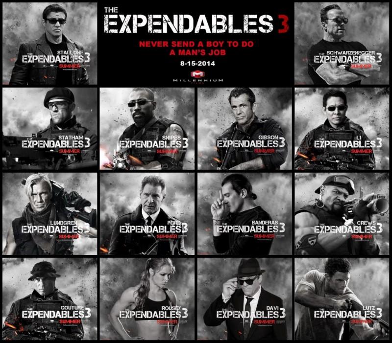 Conoce a todo el elenco en el primer tráiler de Los Indestructibles 3 - trailer-de-los-indestructibles-3-800x701