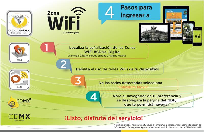 El proyecto de Internet gratis en áreas públicas del DF ya empezó a operar - wifi-gratis-df
