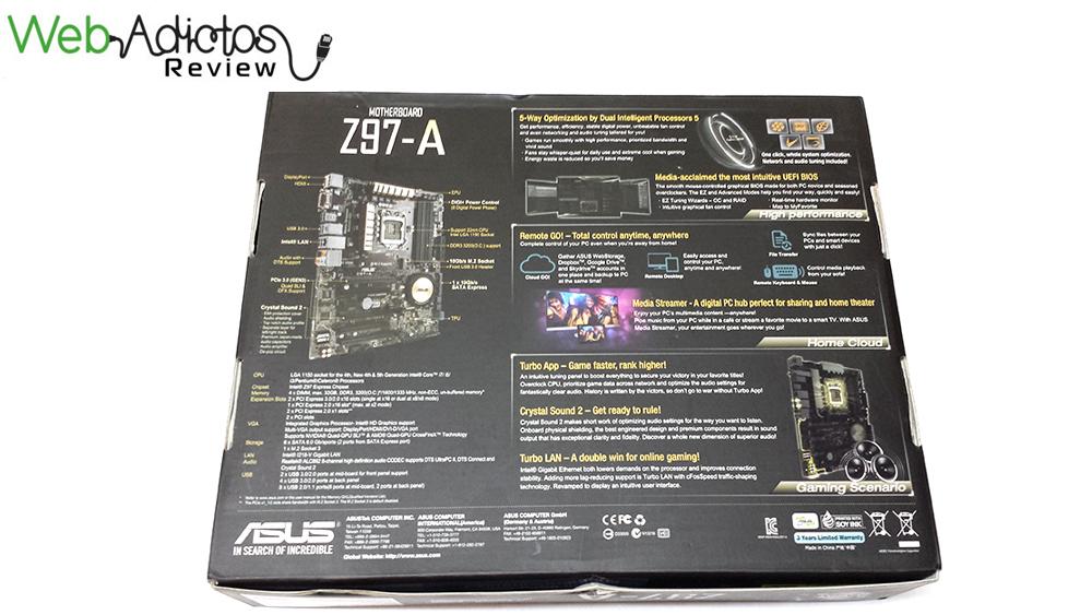 Tarjeta madre ASUS Z97-A, optimiza tu sistema con un clic [Reseña] - 35