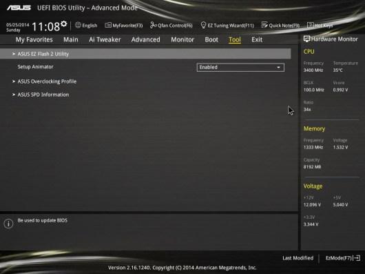 Tarjeta madre ASUS Z97-A, optimiza tu sistema con un clic [Reseña] - BIOS6