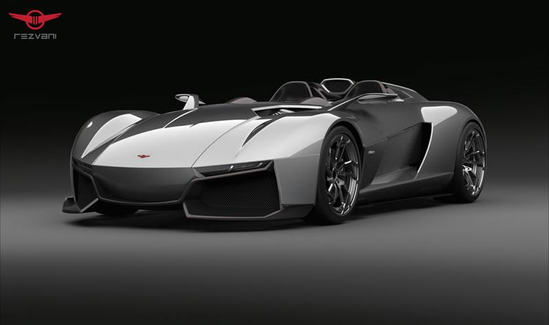 Rezvani Beast Rezvani BEAST, el auto deportivo con piezas impresas en 3D