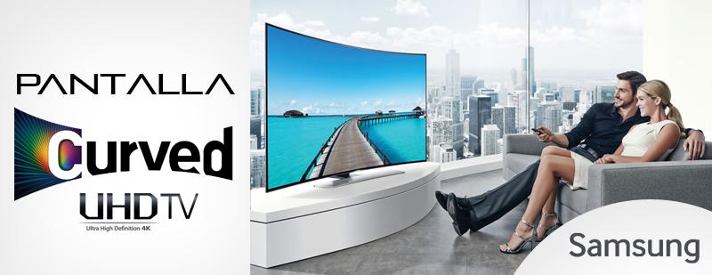 Pantallas Samsung UHD curvas llegan a México - Samsung-UH9000-Curved-UHD-TV