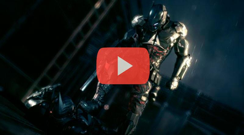 batman arkham knight Increíble nuevo tráiler con gameplay de Batman Arkham Knight
