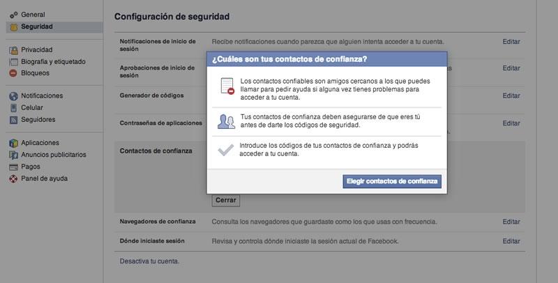 Usa contactos de confianza para recuperar tu Facebook sin complicaciones - contactos-de-confianza-facebook-recuperar-cuenta