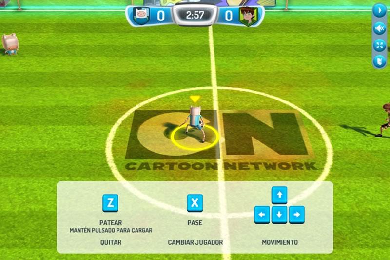 Copa Toon 2014, el nuevo juego de futbol de Cartoon Network - copa-toon-juegos-computadora